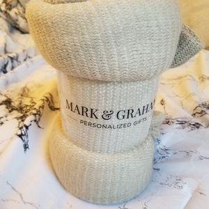 Mark & Graham Colorblock Throw Blanket